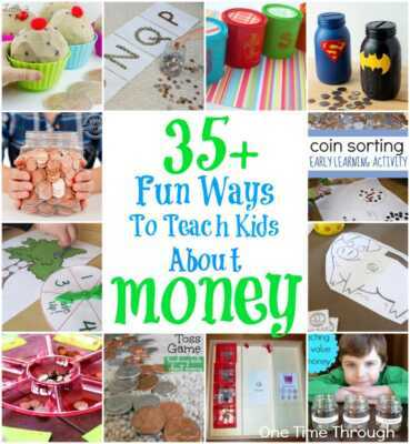 10 best fun activities to teach your kids about money