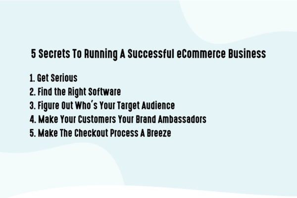 5 secrets to running a successful business