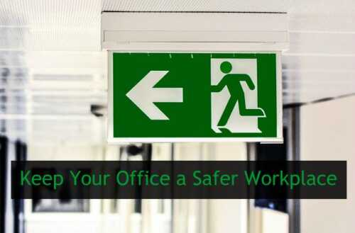 7 rules to keep your office safe