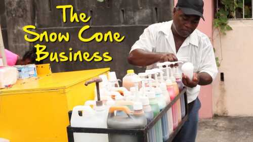 A Snow Cone Business