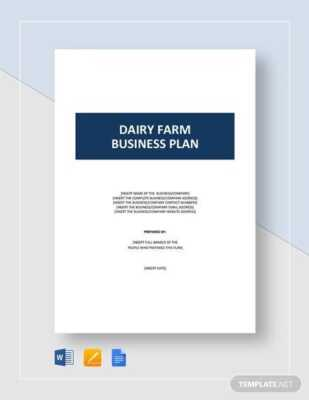 Bison Farm Business Plan Template Launch
