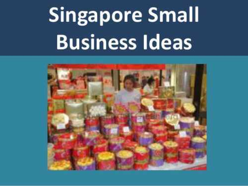 Business ideas in Singapore