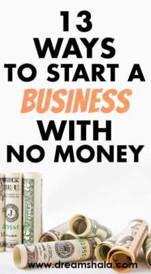 Business without your own money