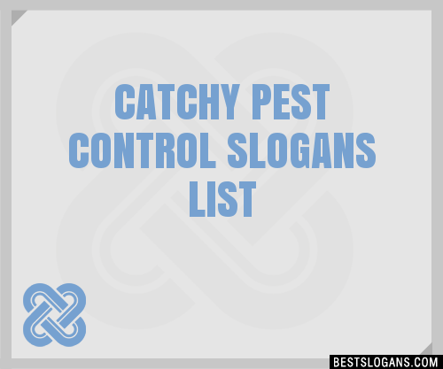 Catching pest control ideas