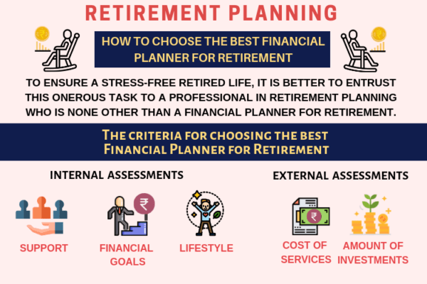 Choose a financial planner for retirement