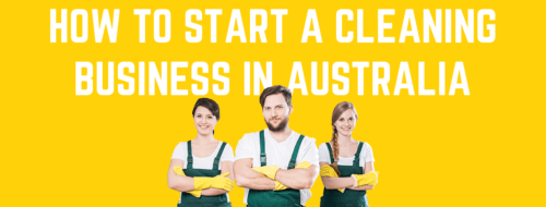 Cleaning business in Australia