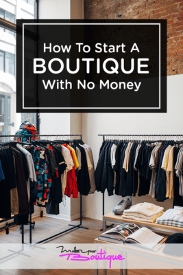 Clothing boutique business ideas