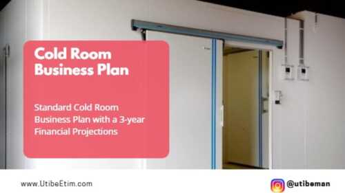 Cold room business plan  launched