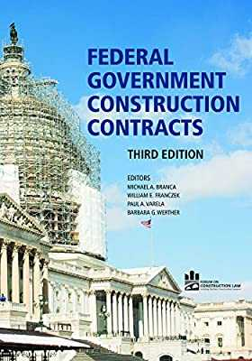 Construction contracts from the federal government