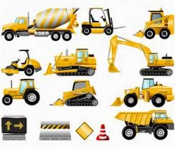 Construction machinery and their application