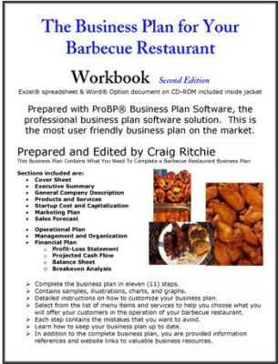 Creating a BBQ Catering Business  Business Plan