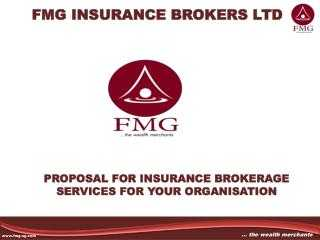 Creation of an insurance brokerage company