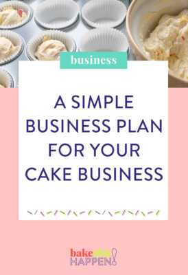 Custom Cake Making Business Plan