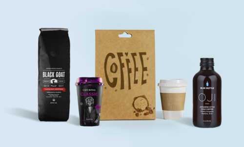 Сatching coffee brand ideas