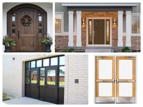 Difference between commercial and residential doors