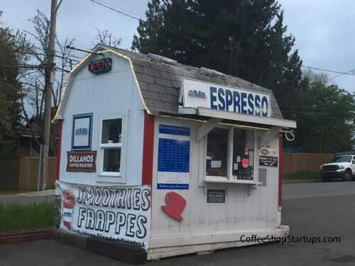 Drive Thru Coffee Stand for Sale
