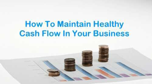 Effectively manage cash flow in a small business