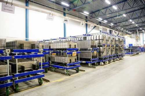 Efficiently handle and store building materials