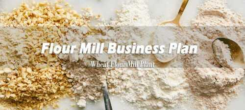 Flour Business . Business Plan