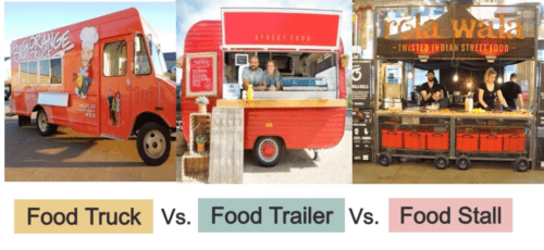 Food Truck . Food Cart vs Food Trailer