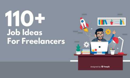Freelance work idea opportunities