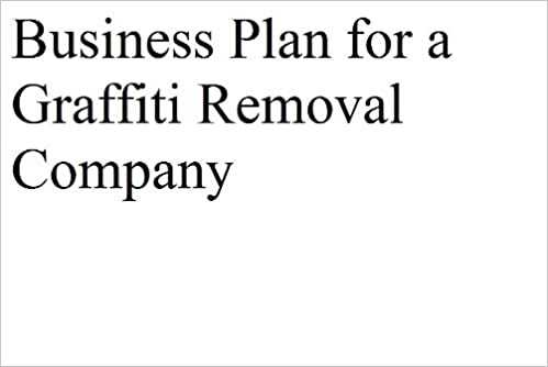 Graffiti Removal Company Business Plan