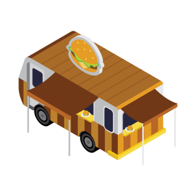 Grocery truck - Sample template