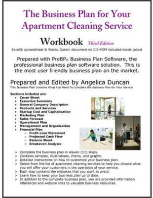 Housekeeping Service Business Plan