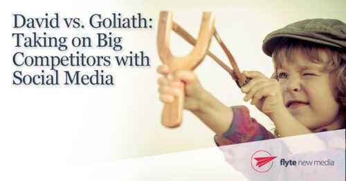 How to Beat Your Huge Competitors David vs. Goliath: