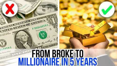 How to become a millionaire in 5 years without money
