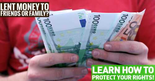 How to protect your money from family and friends