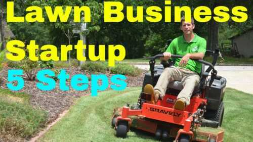 Lawn care business from scratch with no money