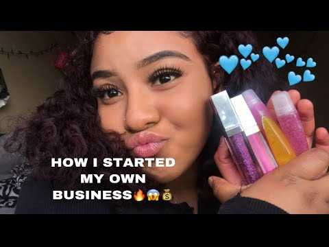 Lip gloss line business