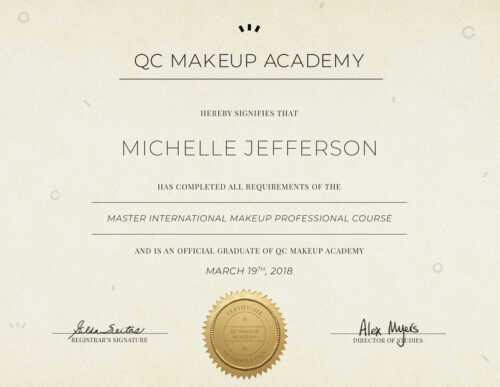 Makeup Artist Certificate  Licensed, Which Is Better