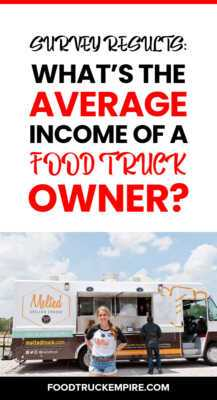 Money do grocery truck owners earn on average per month