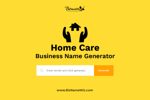 Nursing home business idea name