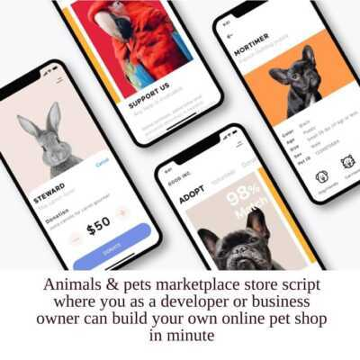 Online pet store business