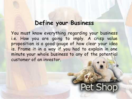 Pet Business  Plan