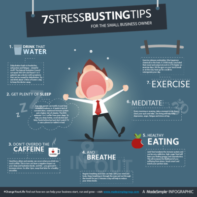 Reduce the stress of running a small business