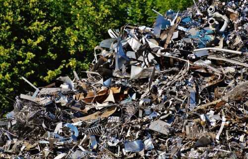 Scrap metal recycling business