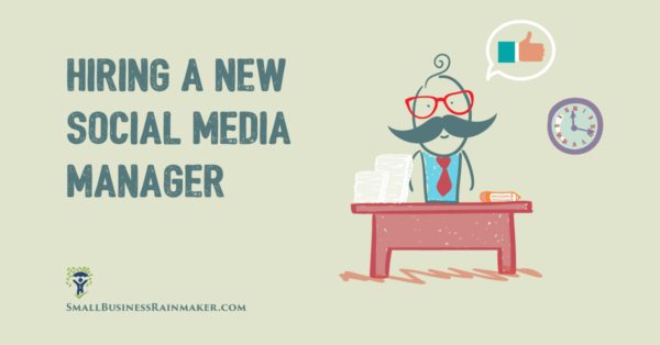 Social Media Manager Small Business