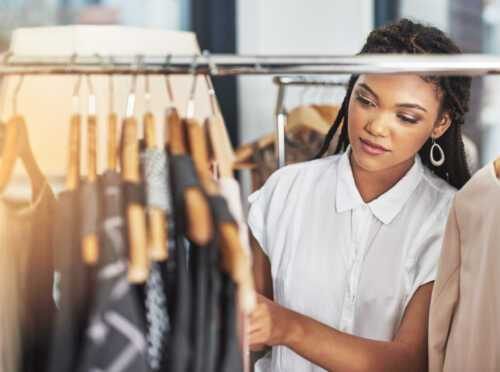 Start a used clothing business by buying wholesale