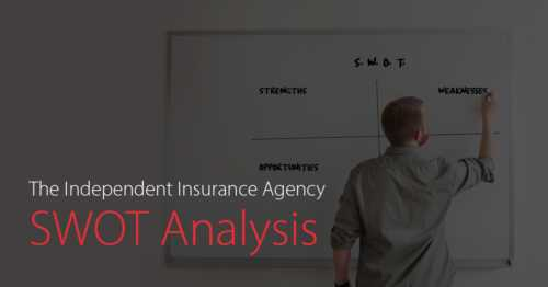 SWOT analysis of the insurance agency's