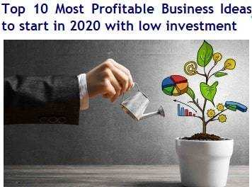 Top 5  New Ideas for  Businesses in India 2021