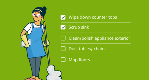 Train your employees to work with cleaners
