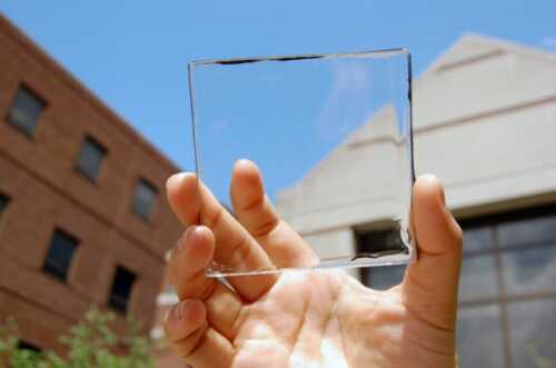 Transparent solar panels will be the windows of the house of the future