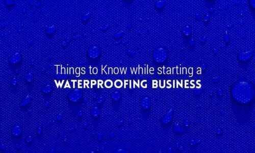 Waterproofing business plan model