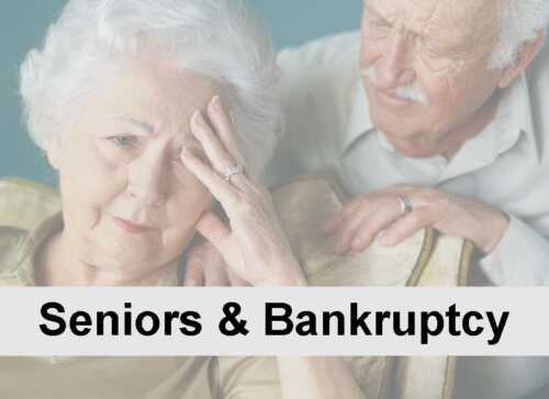 Why Seniors Should Consider Bankruptcy