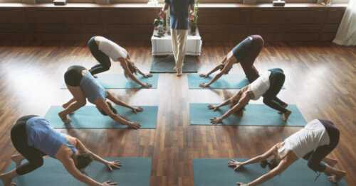 Yoga studio business in your home
