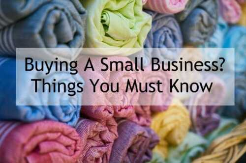 You should know these things before buying a small business